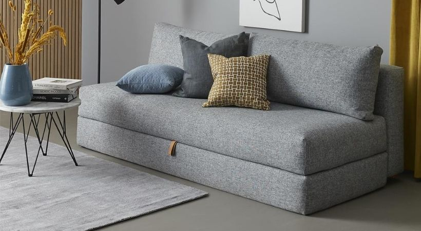 Dobbelt sovesofa med magasin - Osvald