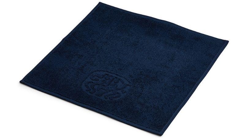 Lækker blå vaskeklud - 32 x 32 cm