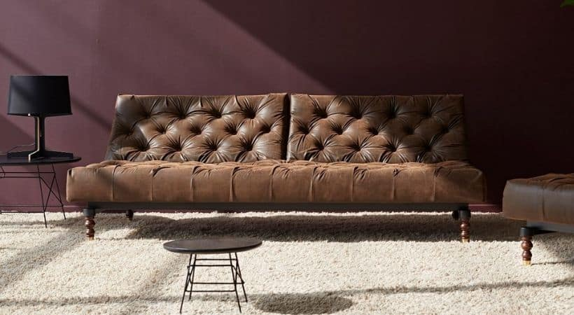 Retro Chesterfield sovesofa sovebriks - Oldschool