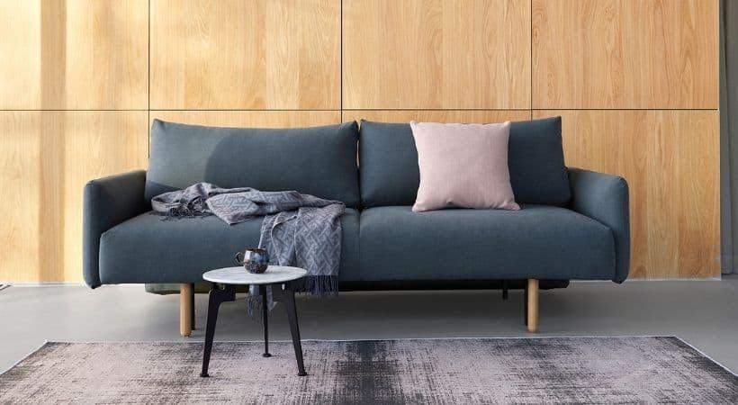 Stor og lækker sofa med sovefunktion - Frode