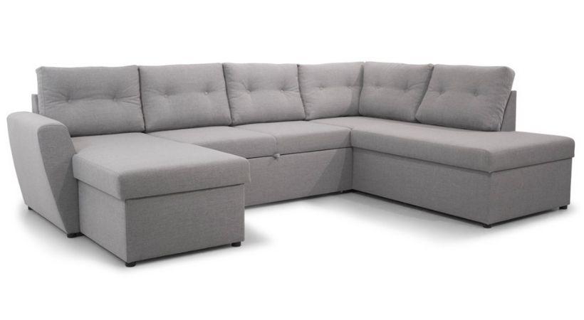 U-sovesofa - U-formet sofa med sovefunktion