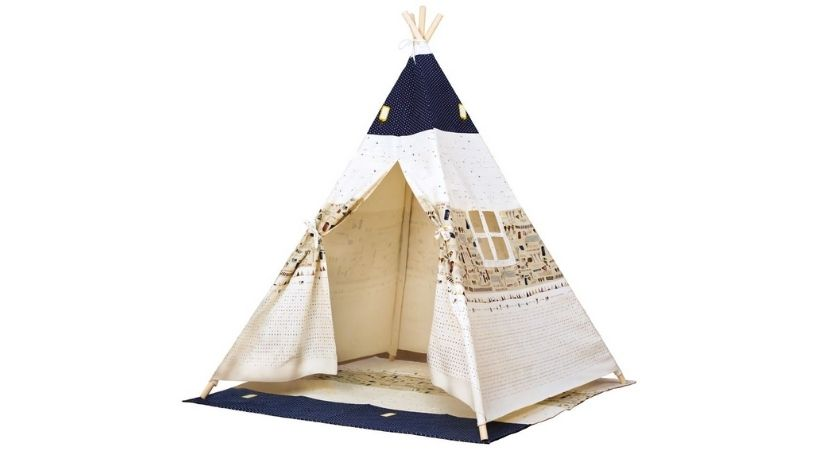Børnetelt - Sødt tipi telt til børn