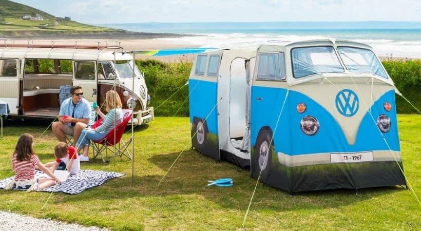 VW 4-mands telt - Oplagt til festival eller camping