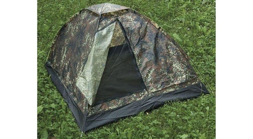 Militær telt - 2-mands telt med camouflage