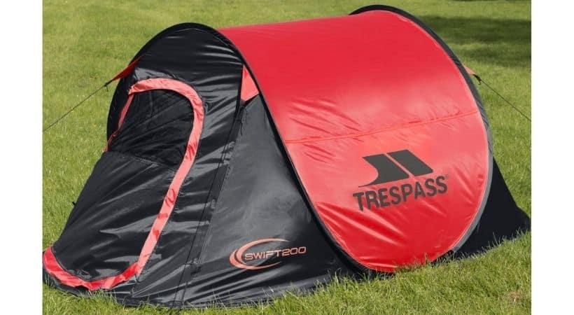 Mini popup telt til 2 personer - Trespass