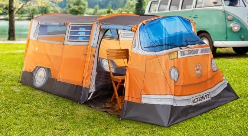 VW 3-mands telt - Oplagt til festival eller camping