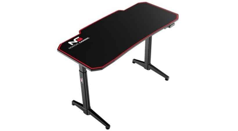 Gaming hæve-sænkebord - Nordic el-bord til gameren