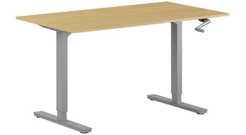 Manuelt hæve-sænkebord - Smart og enkelt håndsving