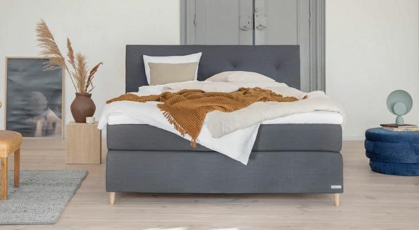 Dreamline Komfort - Dansk-produceret seng med 4 komfortlag