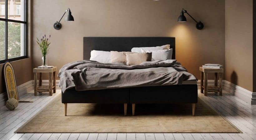 Jupiter Wood - Fed teenager-seng med 5 komfortzoner
