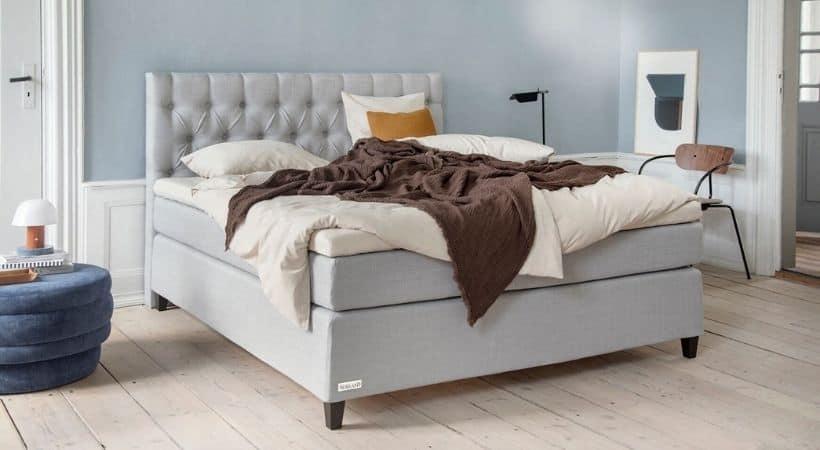 Prestige Komfort - Moderne kontinentalseng med valgfri gavl (tilkøb)