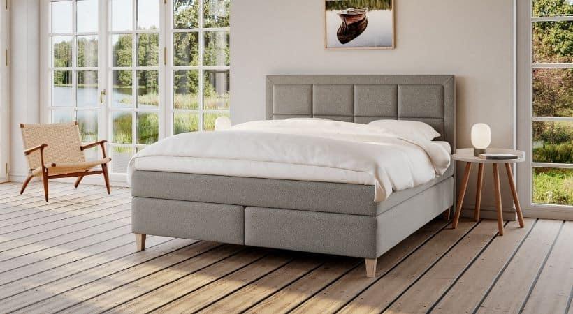 Snefrid - Komfortabel kvalitetsseng i smukt design