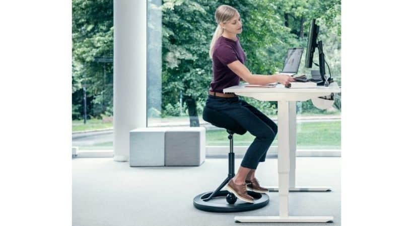 BackApp - Ergonomisk stol uden ryglænBackApp - Ergonomisk stol uden ryglæn