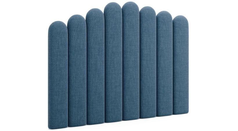 Haven - Unik blå sengegavl
