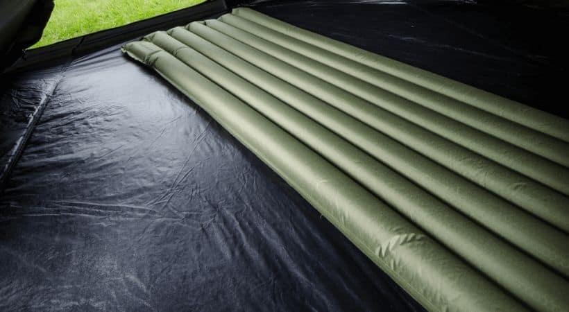 Snugpak luftmadras - Oppustelig madras med indbygget pumpe