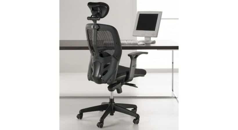 Tempo - Ergonomisk stol med nakkestøtte og mange indstillingsmuligheder